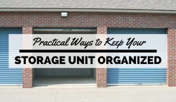 Storage Unit Organization
